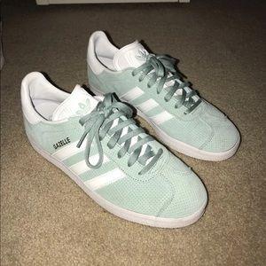 Aqua Adidas Sneakers